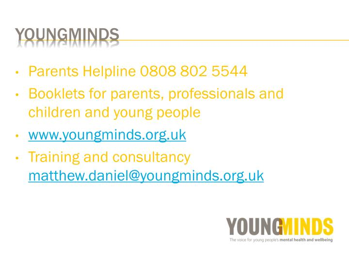 Parents Helpline 0808 802 5544