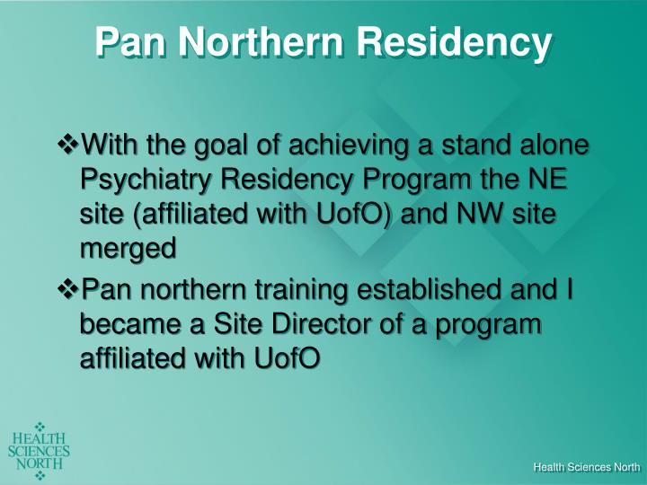 Pan Northern Residency