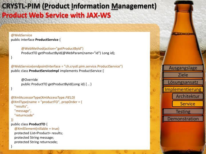 CRYSTL-PIM (