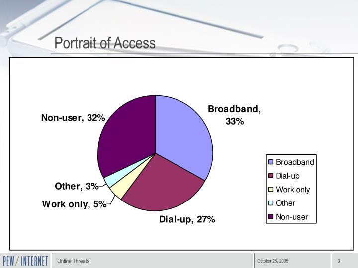 Portrait of Access