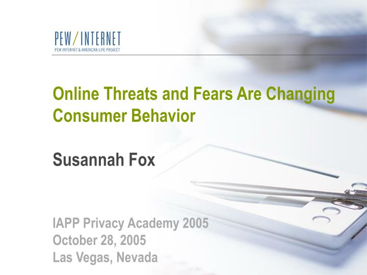 Online Threats and Fears Are Changing Consumer Behavior