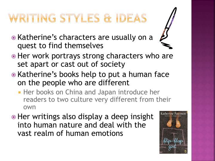 Writing styles & Ideas