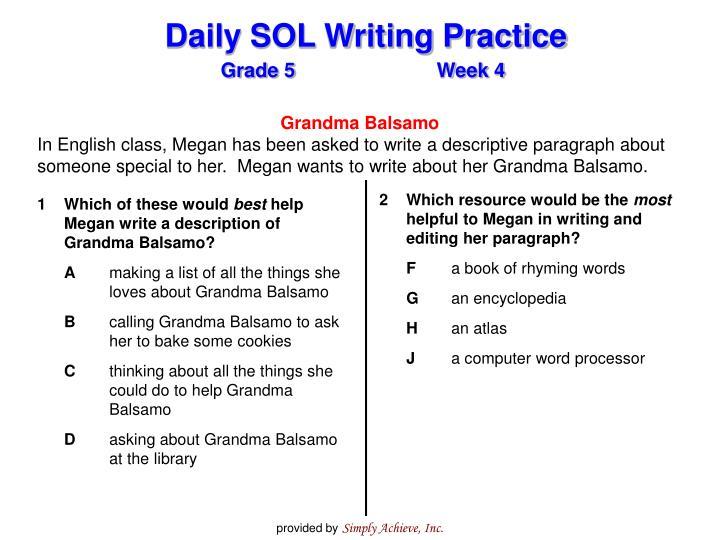 Grandma Balsamo