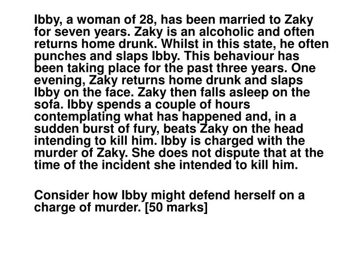 Ibby, a woman of 28, has been married to Zaky for seven years. Zaky is an alcoholic and often return...