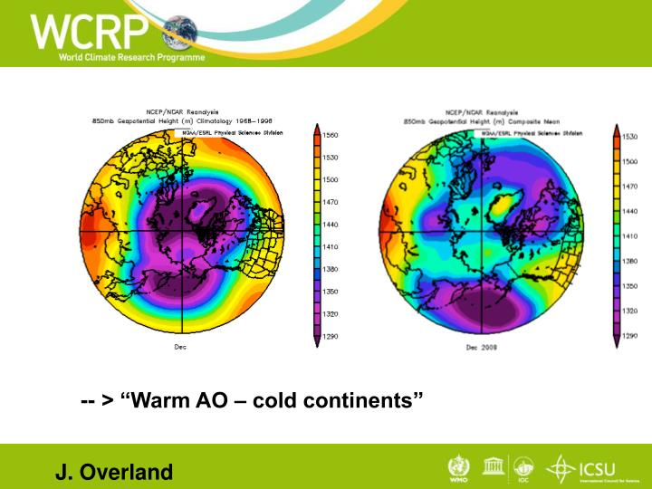 "-- > ""Warm AO – cold continents"""