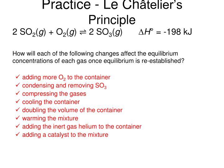 Practice - Le Ch