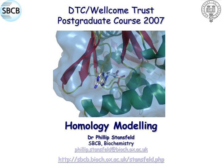 DTC/Wellcome Trust