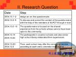 ii research question3
