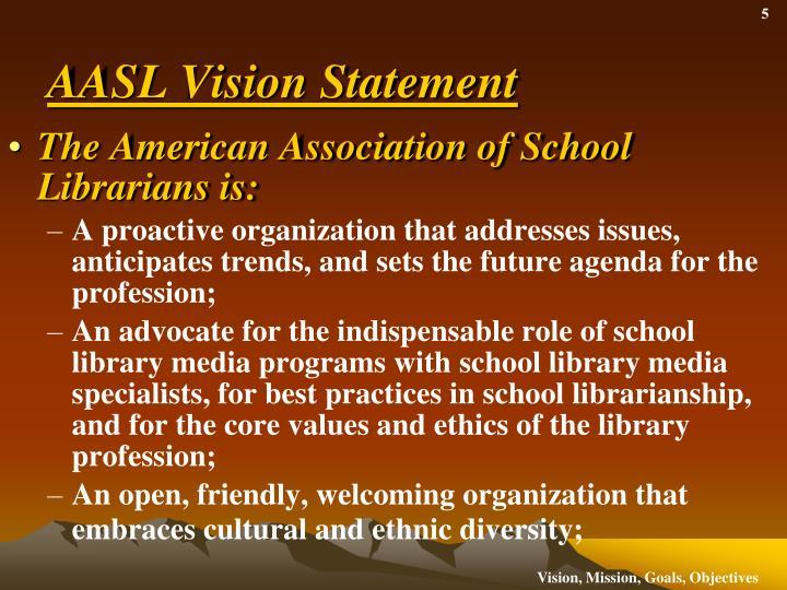 AASL Vision Statement