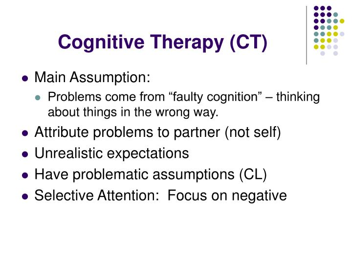 Cognitive Therapy (CT)