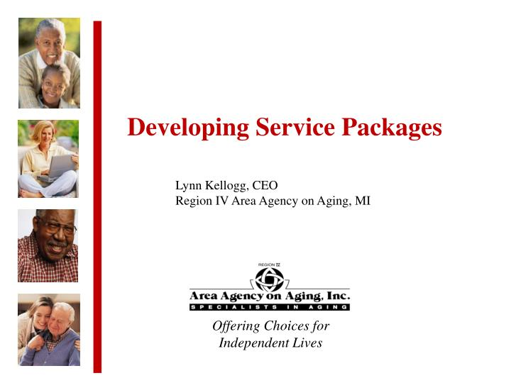 Developing Service Packages
