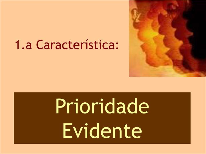 1.a CARACTERÍSTICA