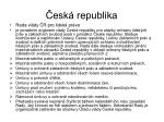 esk republika