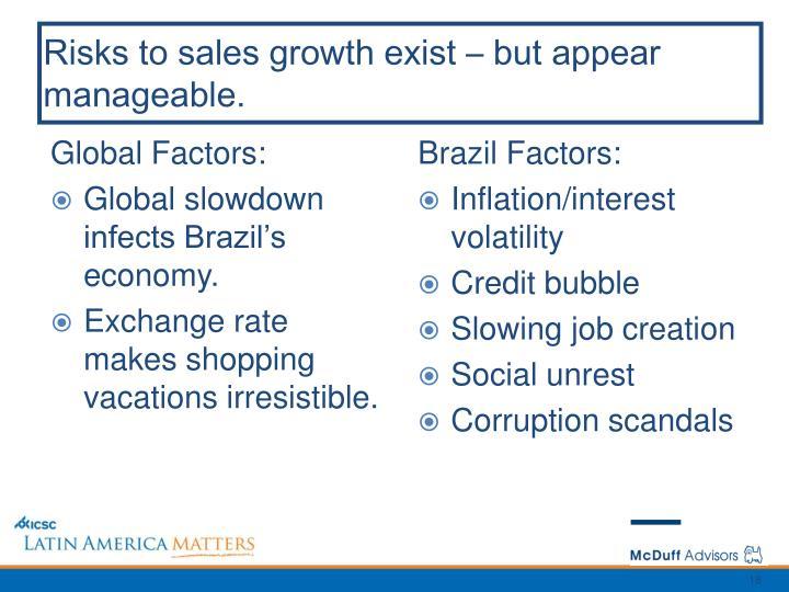 Global Factors: