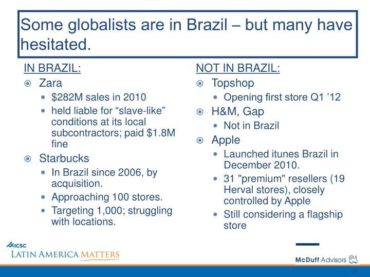 IN BRAZIL: