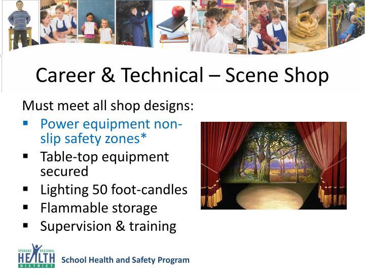 Career & Technical – Scene Shop