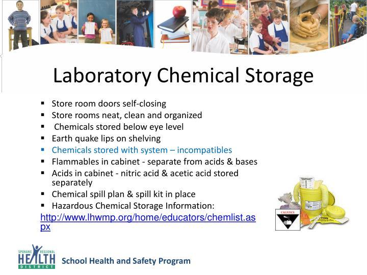 Laboratory Chemical Storage