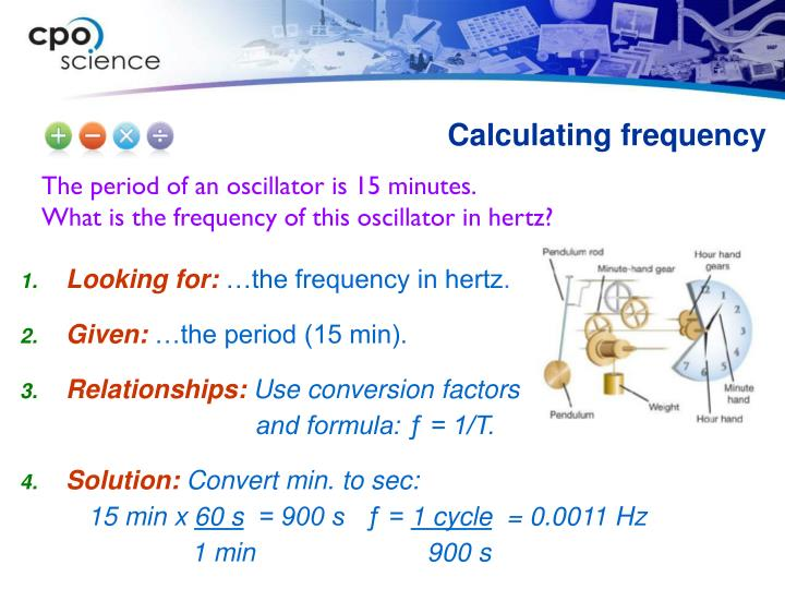 Calculating frequency