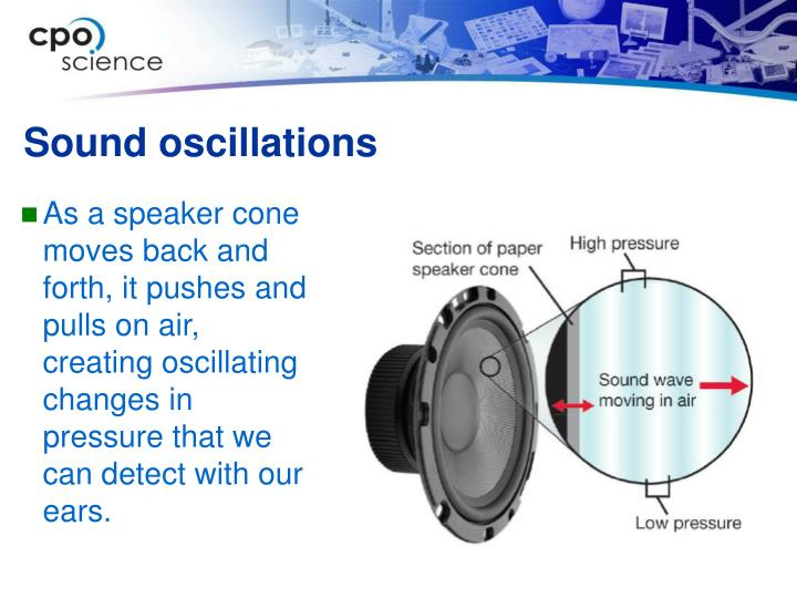 Sound oscillations