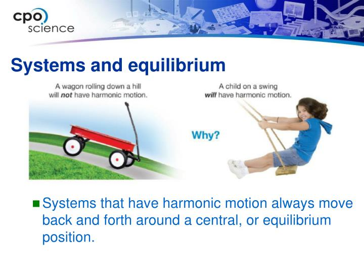 Systems and equilibrium