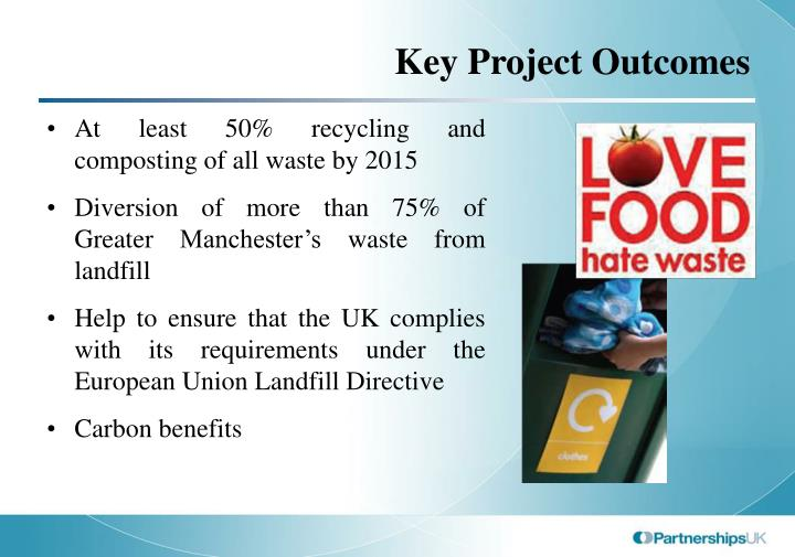 Key Project Outcomes