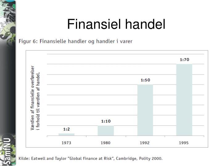 Finansiel handel