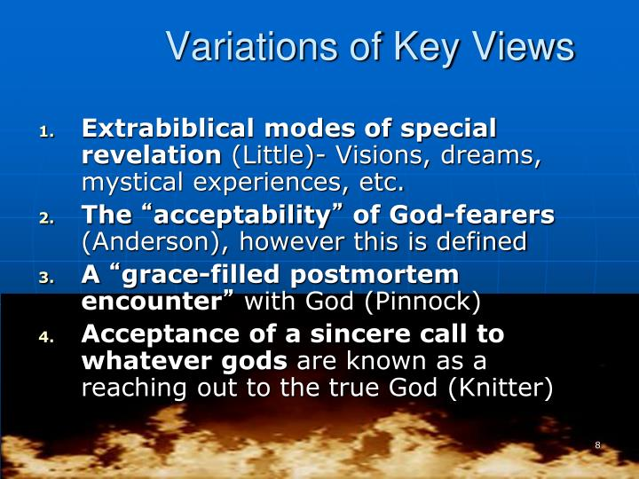 Variations of Key Views