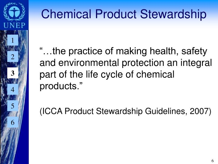 Chemical Product Stewardship