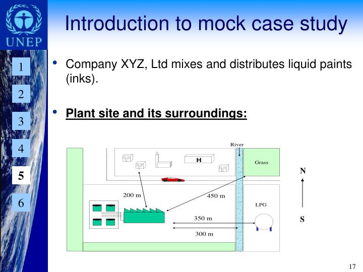 Introduction to mock case study