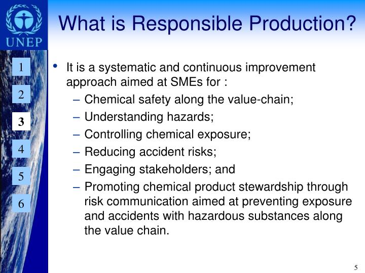 What is Responsible Production?