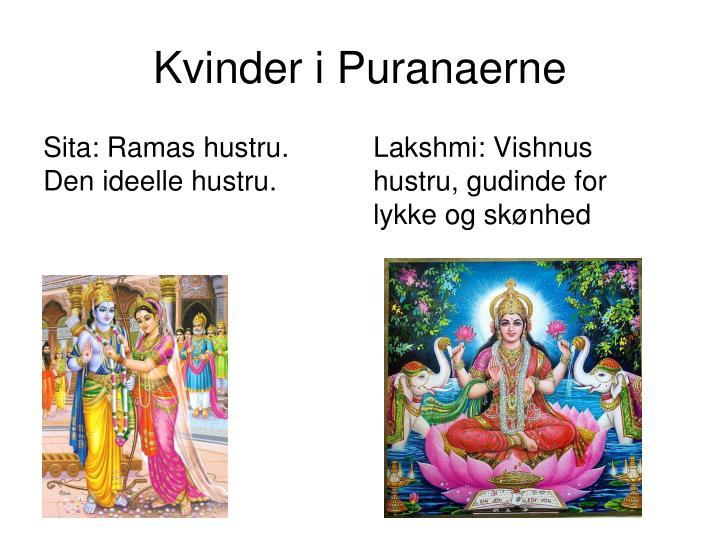 Kvinder i Puranaerne