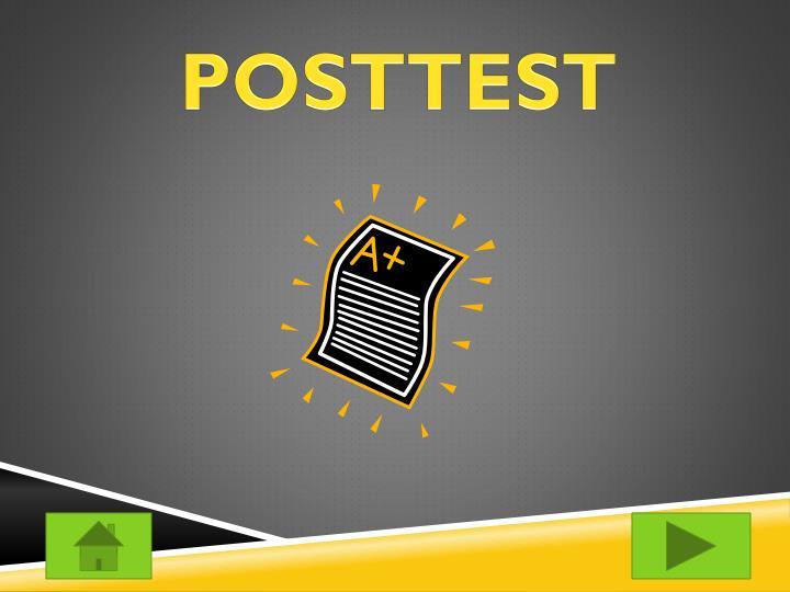 POSTTEST