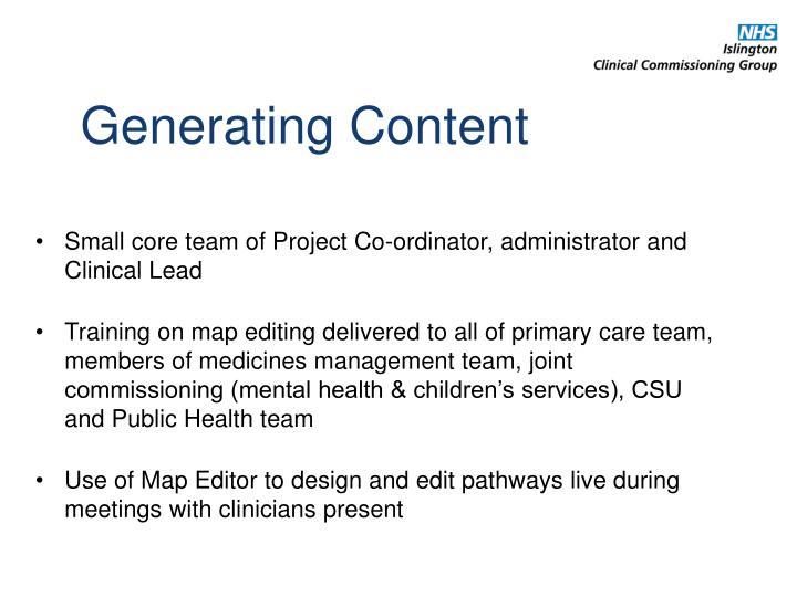 Generating Content