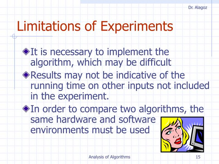 Limitations of Experiments