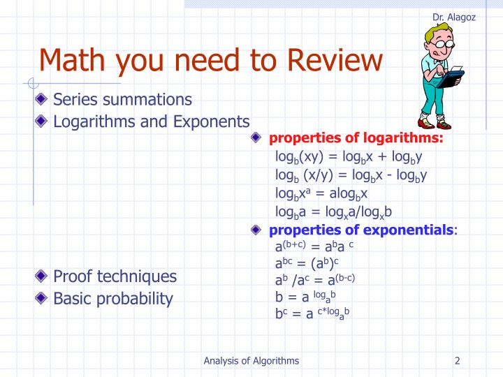 Math you need to Review