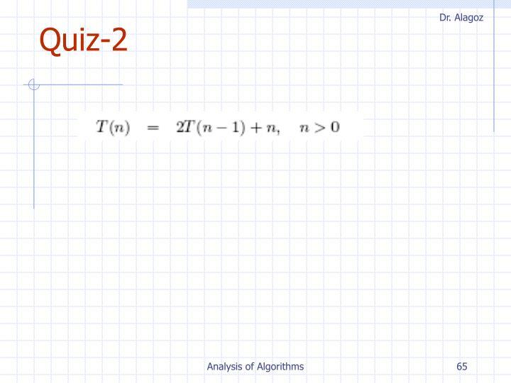 Quiz-2