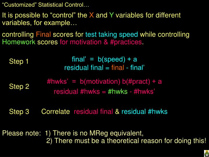 """Customized"" Statistical Control…"