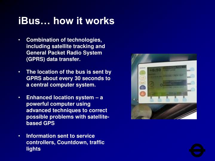 iBus… how it works