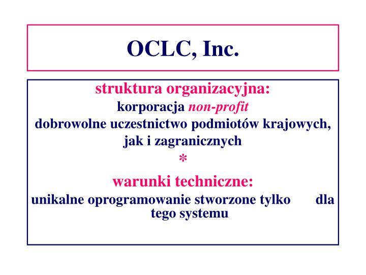 OCLC, Inc.