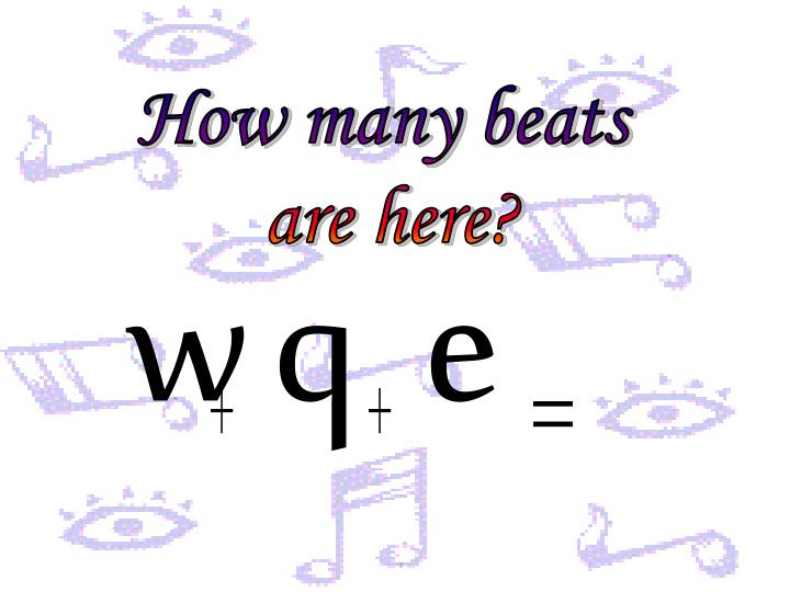 How many beats