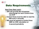 data requirements8