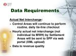 data requirements9