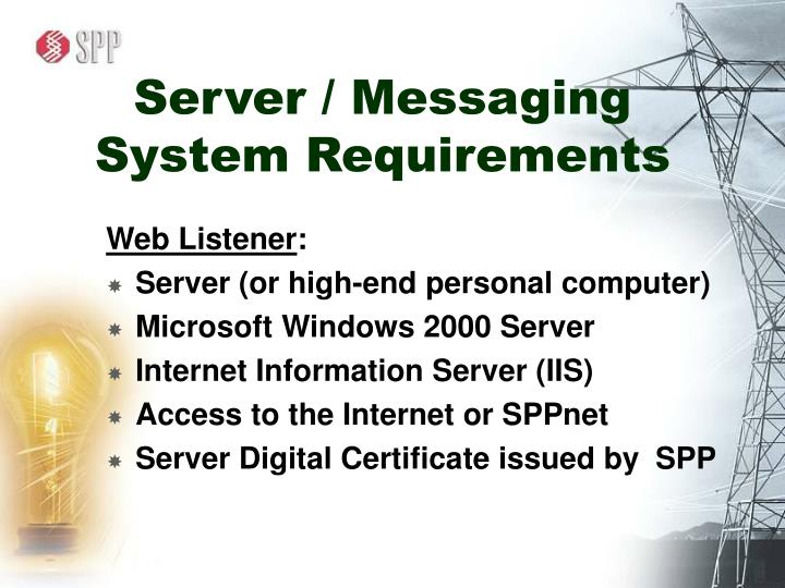 Server / Messaging