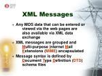 xml messages