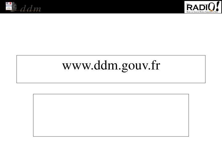 www.ddm.gouv.fr