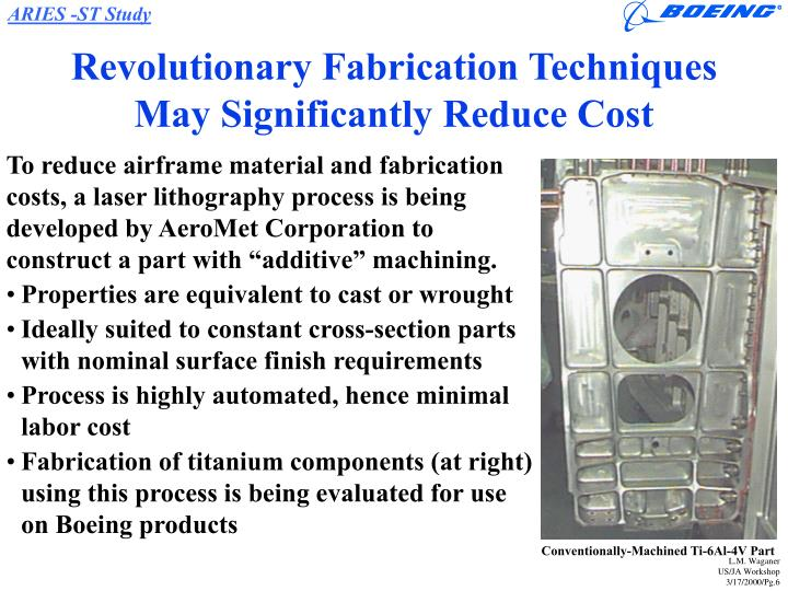 Revolutionary Fabrication Techniques