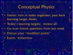 conceptual physics