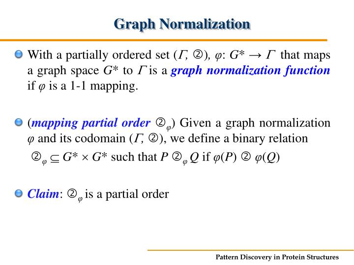 Graph Normalization