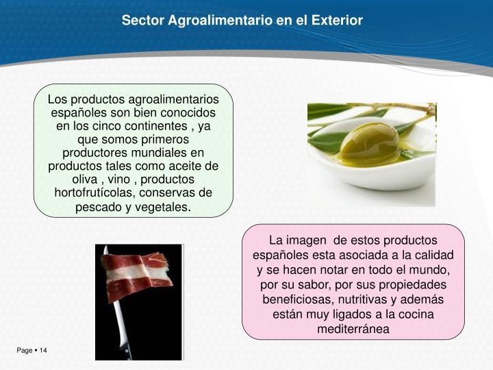 Sector Agroalimentario en el Exterior