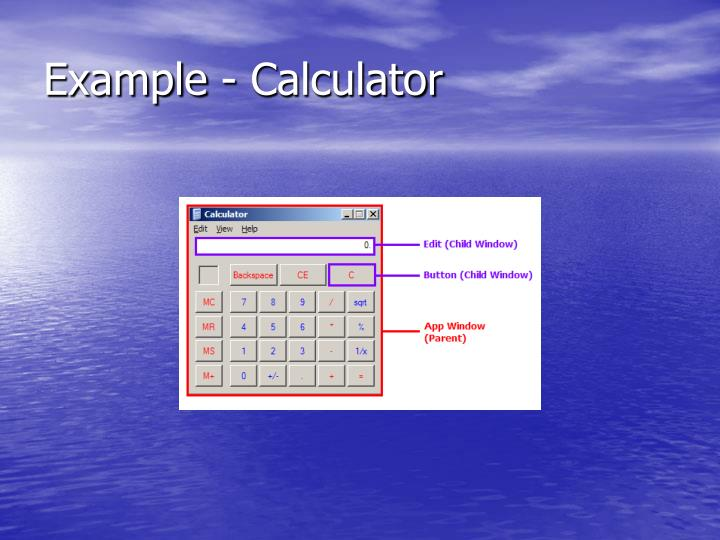 Example - Calculator